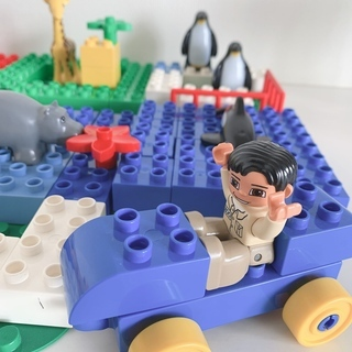 ※激安!LEGOレゴブロックです。1歳半〜ブロックデビューに最適...