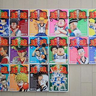 岩田やすてる / 球魂 全16巻完結 個人蔵書