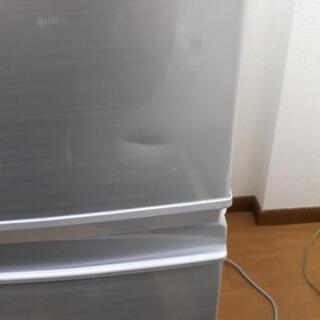 シャープ SHARP 2ドア ノンフロン冷凍冷蔵庫 137L SJ-D14C-S 2016年製 つけかえどっちもドア 冷蔵庫  137L SJ-D14C-S     - 家電