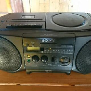 SONY製品 CDカセットラジカセ(1988)