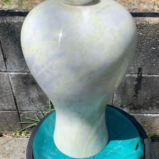 骨盤、白大理石の花瓶、高麗大理石