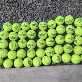 中古硬式テニスボール 減圧 50球