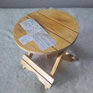スタンド 小さな鉢、物置きテーブル 2つ (未使用)