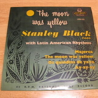 202【7in.レコード】THE MOON WAS YEL…
