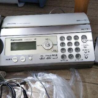 故障につき取り消し   電話機 ファックス