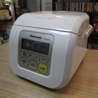 Panasonic 3合炊き 電子ジャー炊飯器 SR-ML…