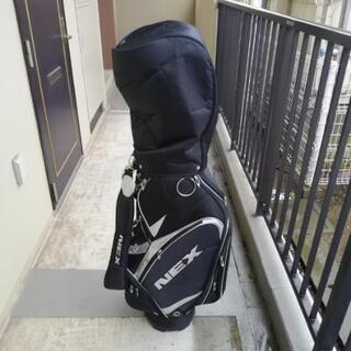 ゴルフセット(ゴルフバッグ、クラブケース、クラブ、スニーカー)