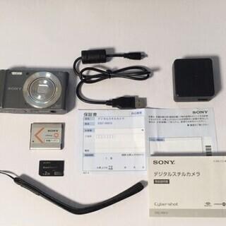 SONY DSC-W810 コンパクトデジタルカメラ Cy…