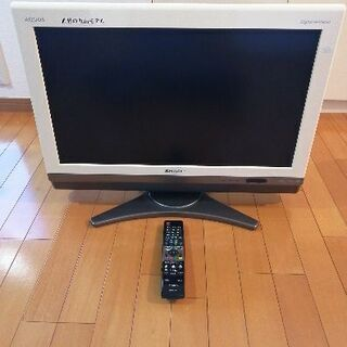 シャープアクオス26型テレビ