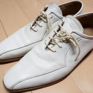 バーバリー メンズ 革靴 25.0cm