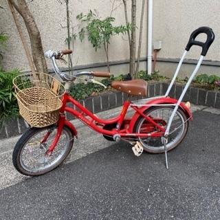 子供用自転車16インチ ブリジストン ハッチ 赤色