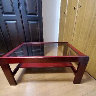 ガラステーブル 丸テーブル折りたたみ