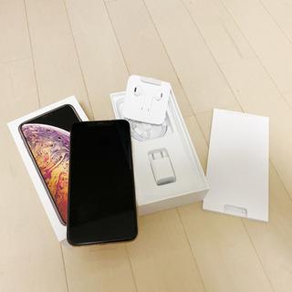 新品! iPhone Xs Max Gold 64 GB SIMフリー