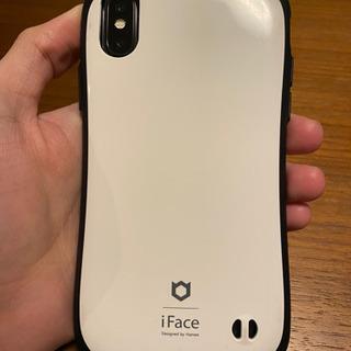 【中古】iFace iPhone X用ケース