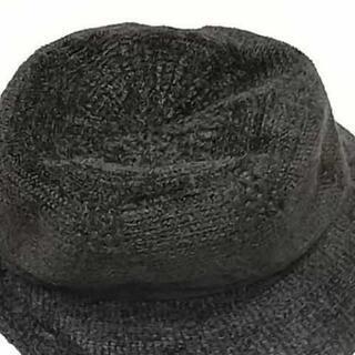 帽子 レディース 焦げ茶