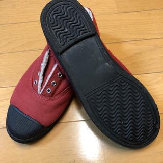 赤いスニーカー Mサイズ 美品 - 南砺市