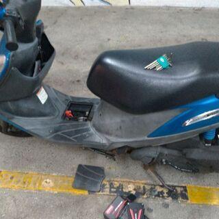 v125 G k5 と250cc MTバイク交換