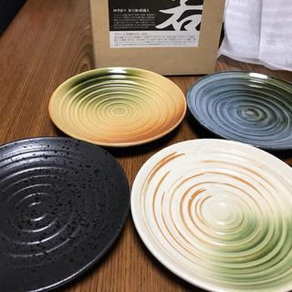 四季彩々 取り皿4枚揃え