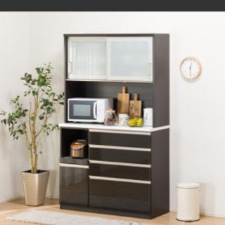 ニトリ キッチンボード ブラウン120サイズ