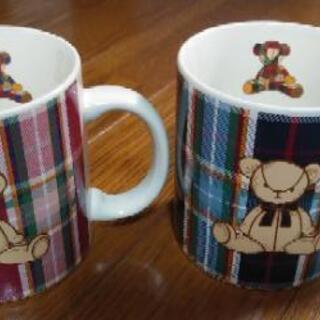 「新品」ペアマグカップ(bear)