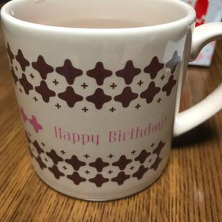 コーヒーカップ メッセージ現れます。