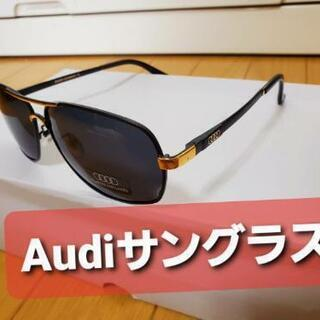Audiサングラス  ゴールド&ブラック