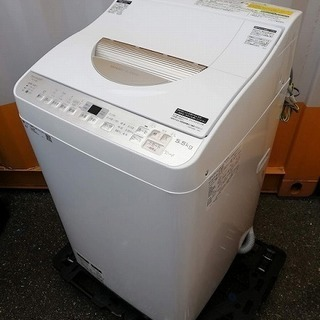 ◼️決定済■2018年製■SHARP タテ型洗濯乾燥機 ステンレ...