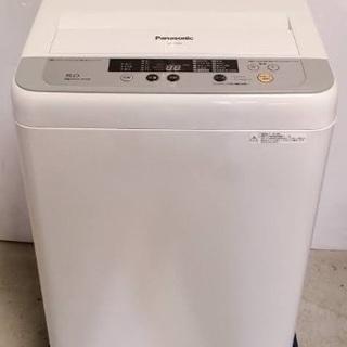 洗濯機 5kg パナソニック NA-F50ME4 2017年製
