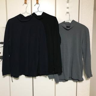 ユニクロ フリースヒートテックTシャツ サイズL3枚セット