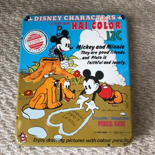 30年位前のディズニーキャラクターズハイカラー12色 新品