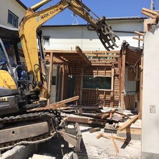 建物解体御見積もり無料 解体請負致します 内装解体 残置処分等