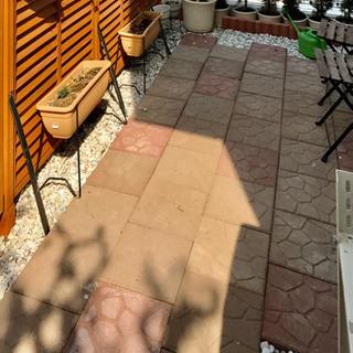 レンガ コンクリート 敷石 ガーデニング 平板 30×30