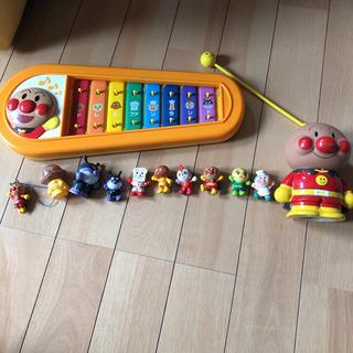 アンパンマン   おもちゃセット 鉄琴 貯金箱