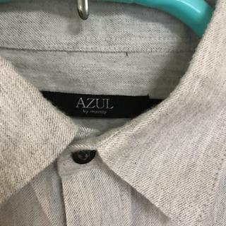 長袖 シャツ やじお メンズ 春 夏 Mサイズ - 服/ファッション