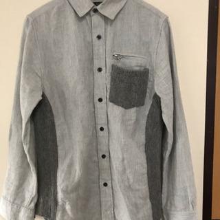 長袖 シャツ やじお メンズ 春 夏 Mサイズ