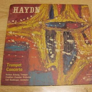 209【7in.レコード】ハイドン トランペット協奏曲