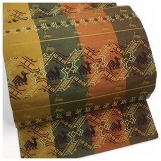 ◇美品 袋帯◇ ◇有栖川紋◇ 正絹 袋帯 長さ435cm