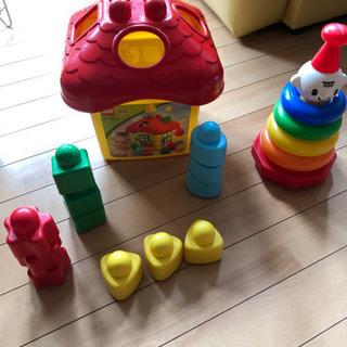おもちゃセット 輪投げ 型はめ積み木