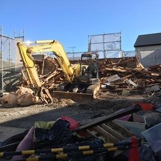 解体ハツリ工事,伐採,ゴミ屋敷残置物撤去,消臭消毒