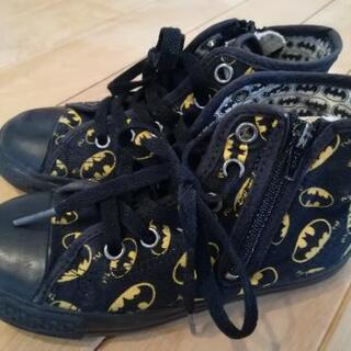 サイズ19 コンバース バットマン