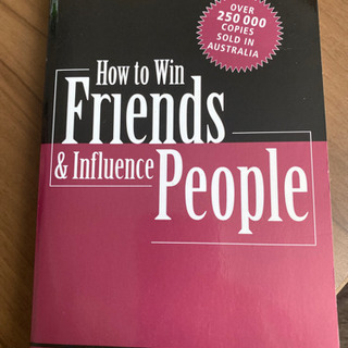 how to win friends&influence people