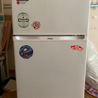 ハイアールの冷蔵庫と電子レンジ