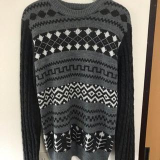 セーター ニット やじお 春 秋 冬 Mサイズ