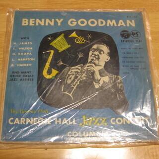 250【7in.レコード】ベニー・グッドマン カーネギー・ホール
