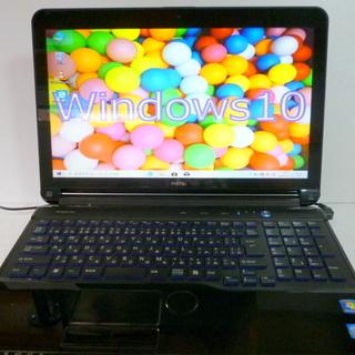 地デジ富士通 i7 4コア新品SSD256GB×1TBオフィス2...