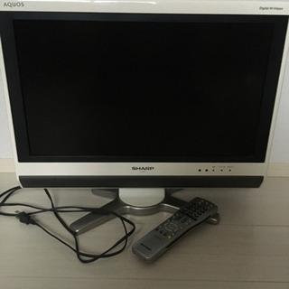 シャープ AQUOS 2010年製 20型テレビ