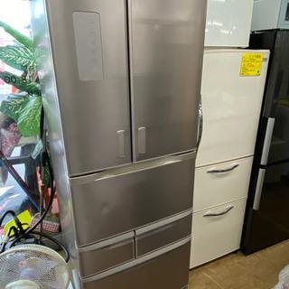 15年製 481L 6ドア冷蔵庫 中古 リサイクルショップ宮崎屋...