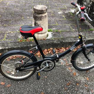 折りたたみ自転車【イスとLEDライトは新品に近い状態】