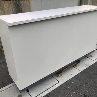 中古美品 コクヨ 業務用 ハイカウンター 受付カウンター オフィ...