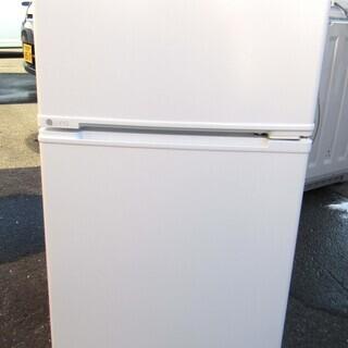 中古品 ユーイング ノンフロン冷凍冷蔵庫 UR-D90H 201...